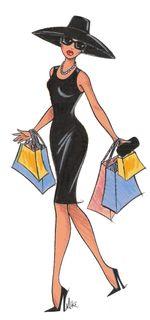 Shoppingbaglady