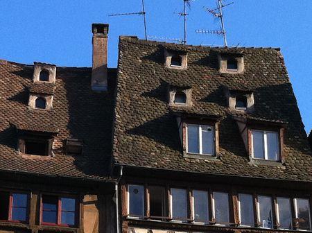 Strasbourg roofs