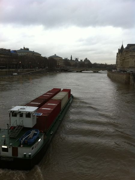 Seine flooding