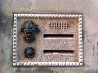 Venetian letter box