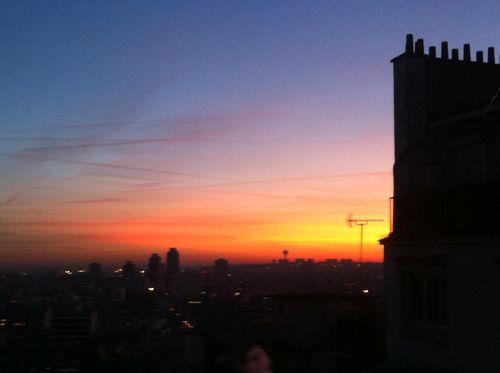 Sunrise from Lamarck