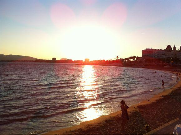 Sunset on Melon Beach