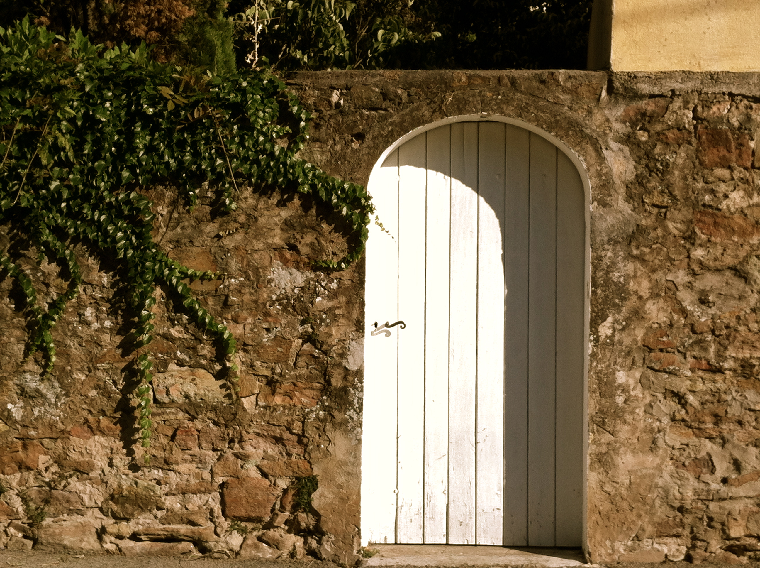 For four years I\u0027ve been walking past this door in this wall on my sister-in-law\u0027s street in Saint Raphael each time we go to the beach or into town for ... & The door in the wall (The Bold Soul: A Writer\u0027s Life in Paris)