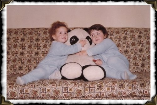 Me, Sue and the Panda