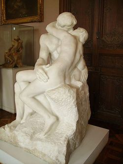 The Kiss, by Auguste Rodin