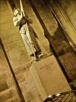 Jeanne d'Arc @ Notre Dame de Paris