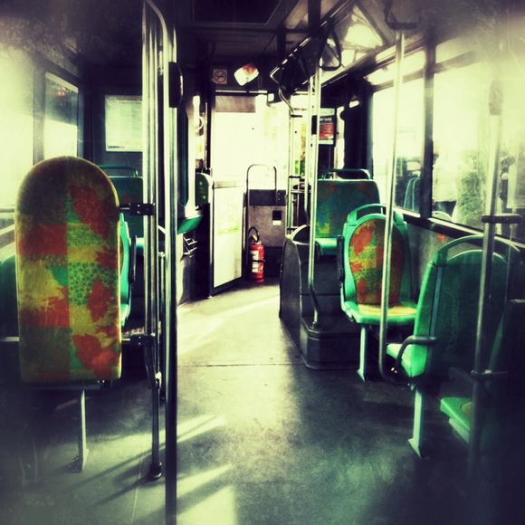 In which I am the only one on the bus