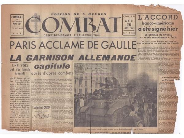 Combat-du-26-aout-1944-liberation-de-paris